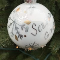 Seasons Greetings Globe