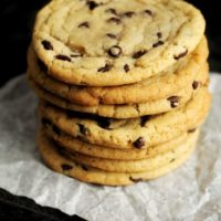 All Butter Chocolate Chip Cookies