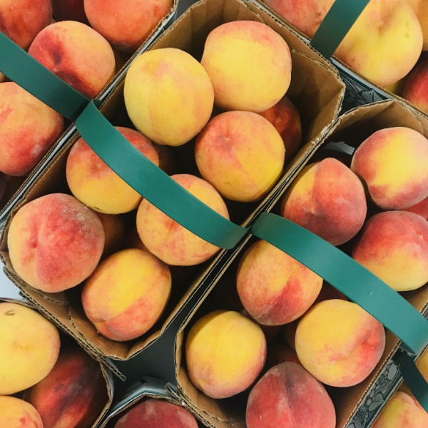 Unger's Market - peaches