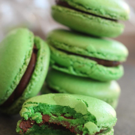Ungers Market - St. Patrick's Day Macaroons